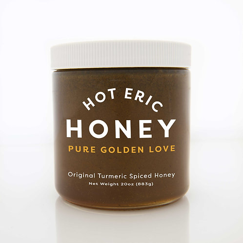 Turmeric Spiced Honey - 20 oz