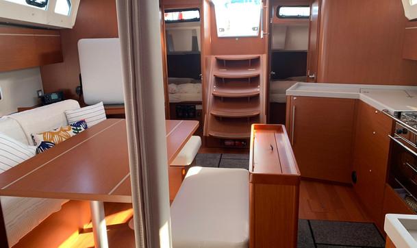 Gita in barca con comfort
