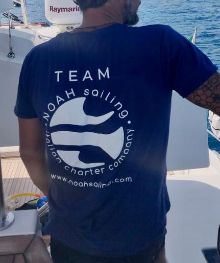 Noah Sailing crew a bordo di Denilos.