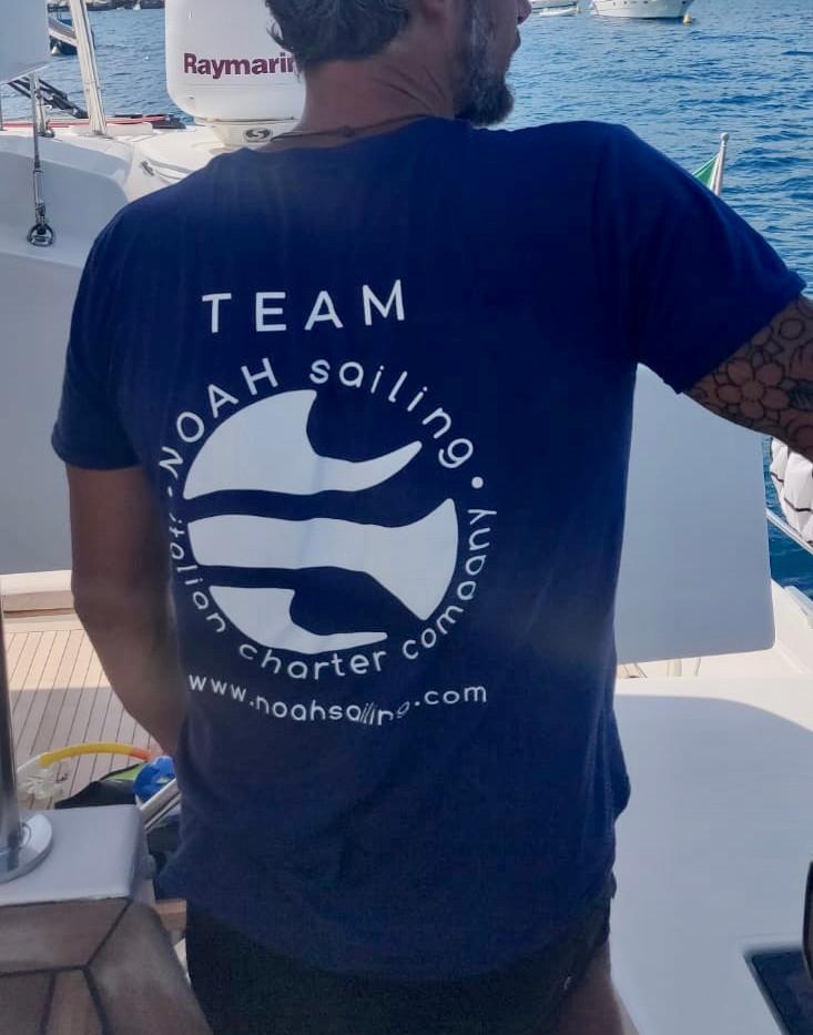 Noah Sailing crew on board of Denilos.