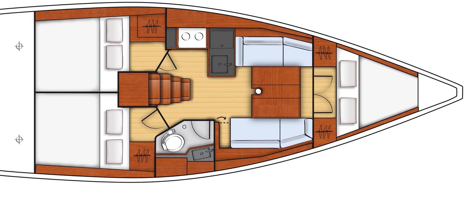 Sailing experience in sardinia