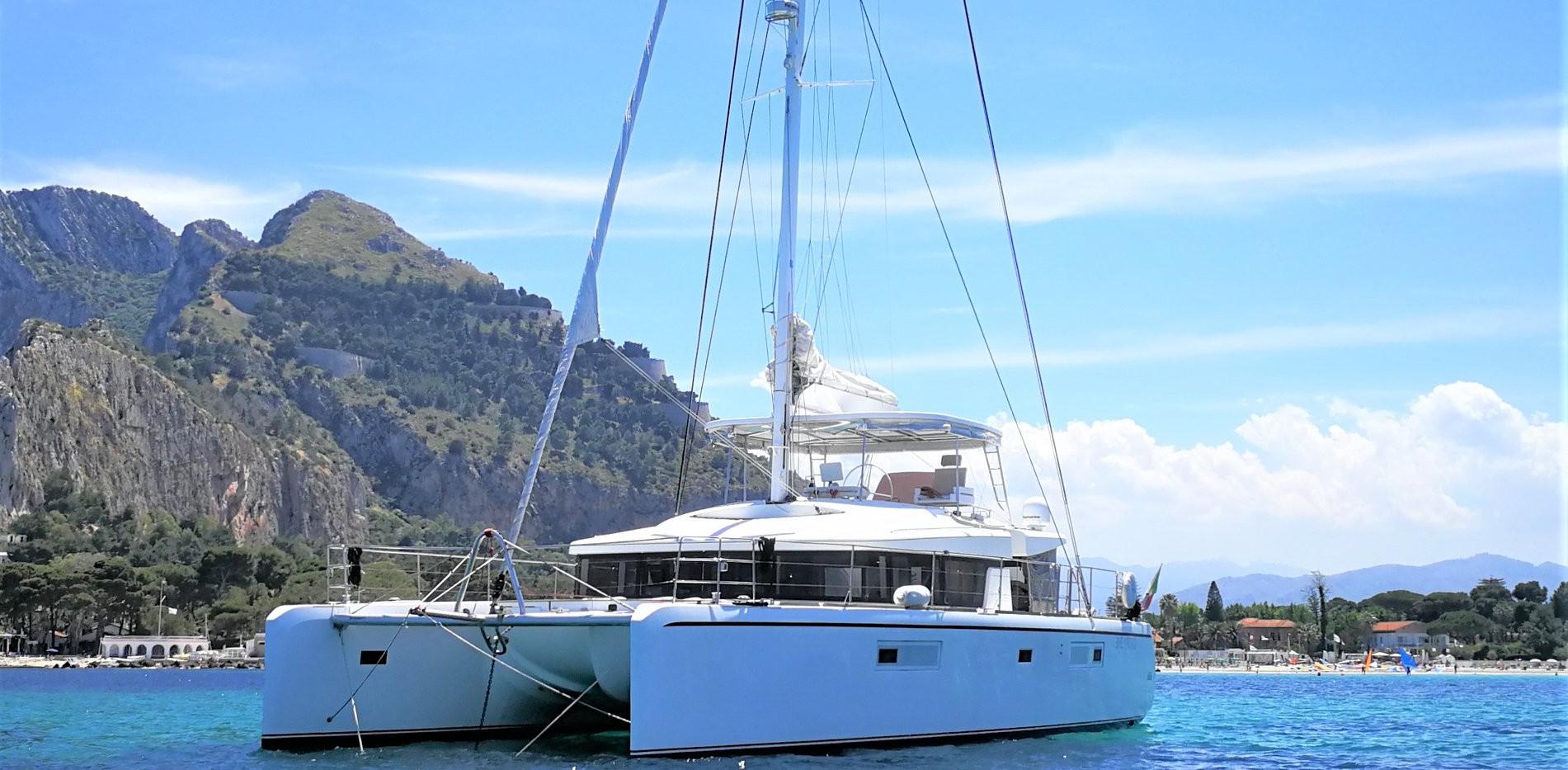 Crewed charter in sardinia