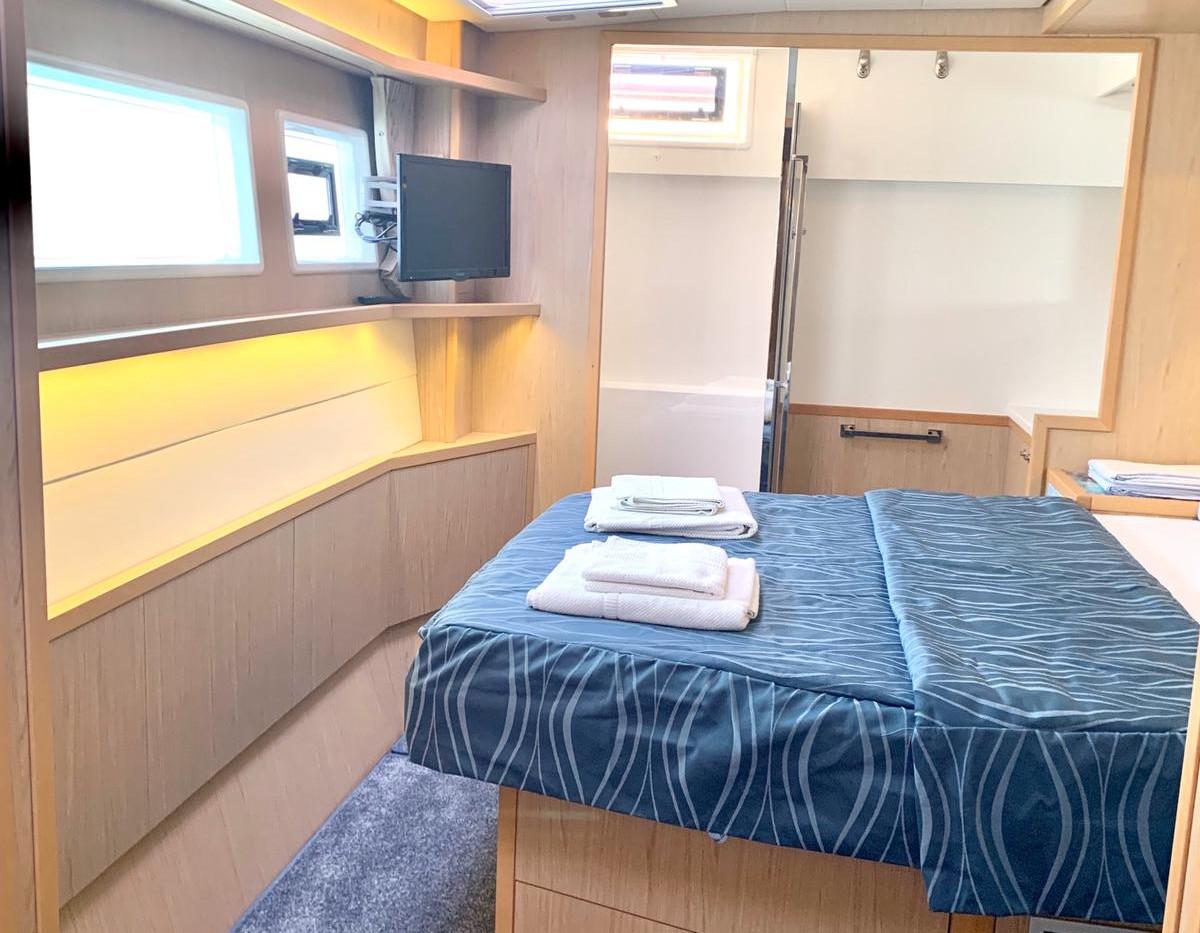 Luxury catamaran rental