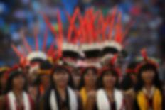 Jogos indígenas. Projeto Filhos da Terra - Foto: Eraldo Peres