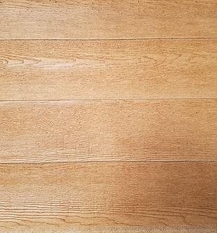 Medium brown with dark stain