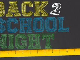 Fiske Back To School Night
