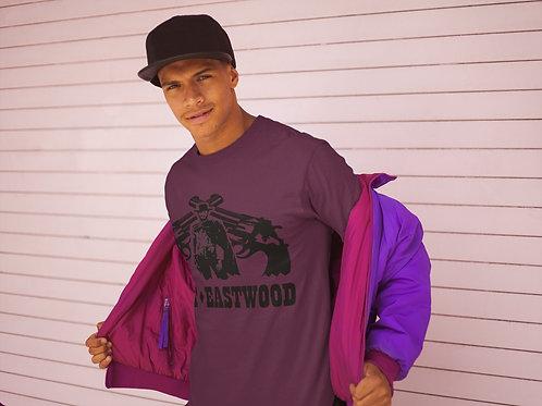 Clint Eastwood Gun Art Retro T-Shirt