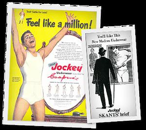 Vintage 1950s Jockey Brand