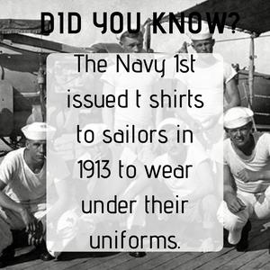 Navy T-shirts 1913