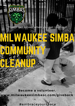 Simba Community Cleanup Poster.png