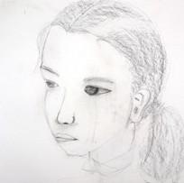 友だちを描く 女子部中等科1年[2017]