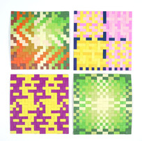 色彩演習 最高学部2, 3, 4年 染織[2020]