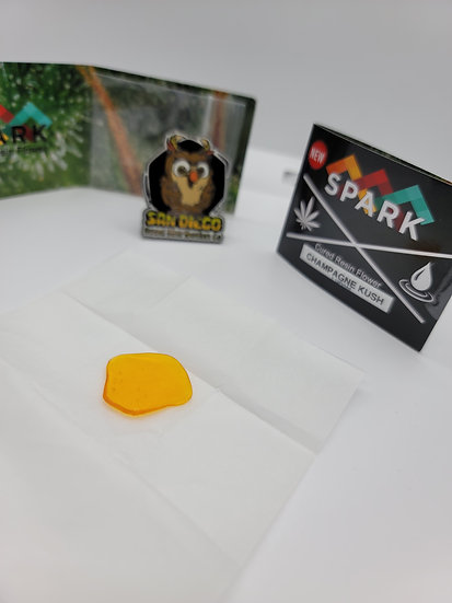 Prime - Spark Extracts (Champagne Kush) 2x48, 3x68, 4x78, 5x100