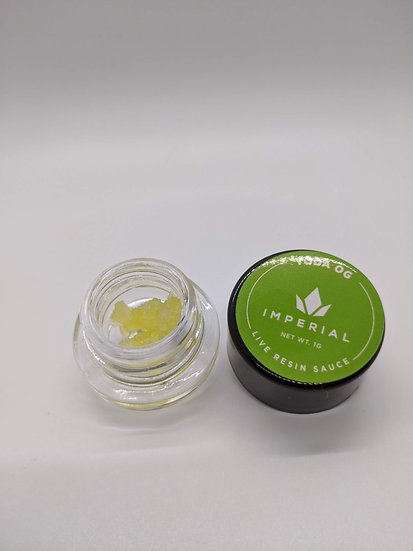 Imperial Extracts Live Diamond Sauce - Yoda OG