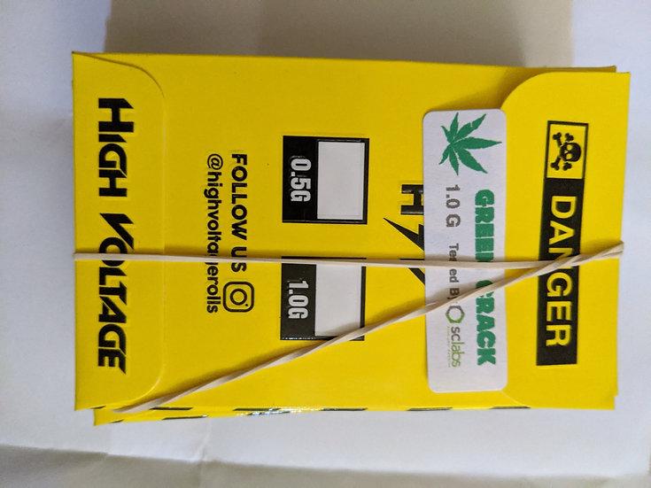 High Voltage - Green Crack 2x48, 3x68, 4x78, 5x100
