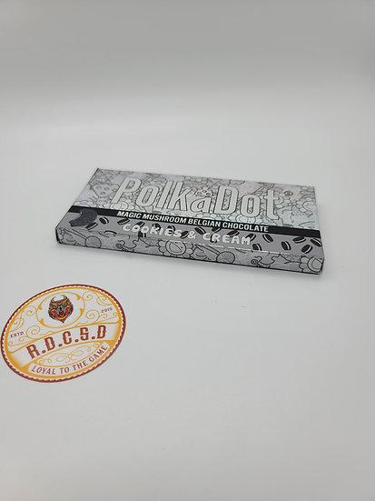Polkadot Shroom Chocolate (Cookies & Cream)