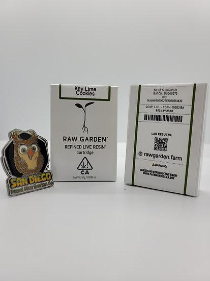 Raw Garden - Key Lime Cookies (Verifiable)