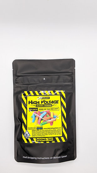 High Voltage - Gummies Edibles 20 pieces