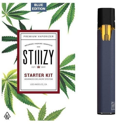 Stiiizy Battery Starter Kit - Blue Edition