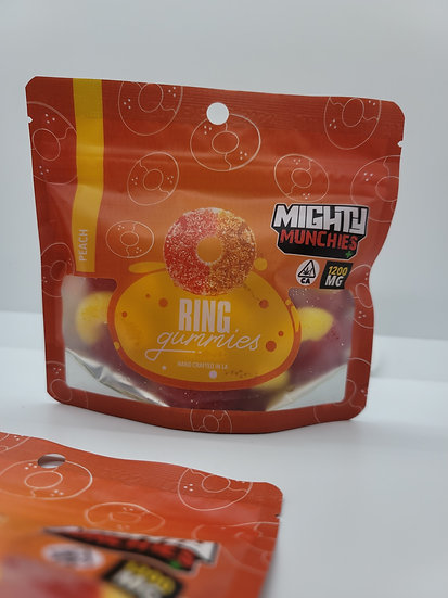 Mighty Muchies - Peach Rings