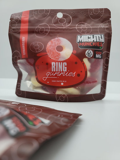 Mighty Muchies - Strawberry Rings