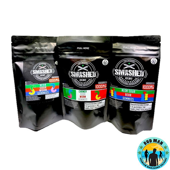 Smashed Edibles - 1000mg Restocked (Click for available options)
