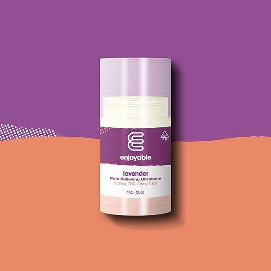 Enjoyable Pain THC Balm - Lavender