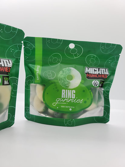 Mighty Muchies - Green Apple Rings