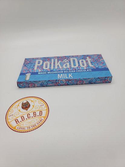 Polkadot Shroom Chocolate (Milk Chocolate)