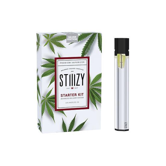 Stiiizy Battery Starter Kit - Silver Edition