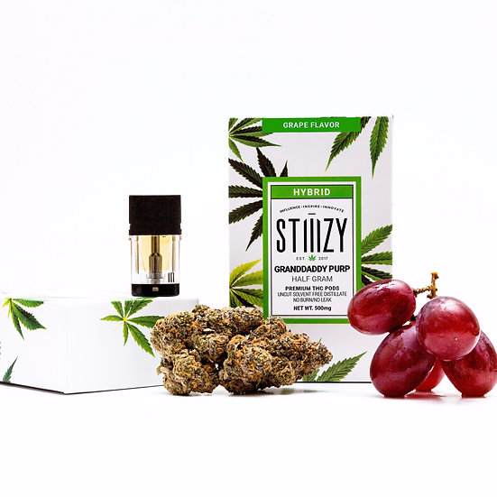 Stiiizy - Granddaddy Purp.  Grape Flavor