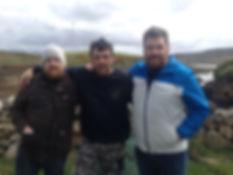 Famous chefs Nathan Outlaw & Jp McMahon visit Dooncastle Oyster Farm.