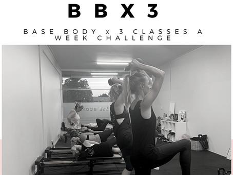 BBX3 CONSISTENCY CHALLENGE