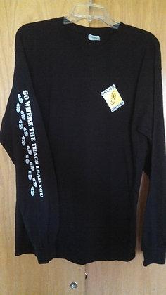 Long Sleeve Adult T-Shirt - 100% Cotton