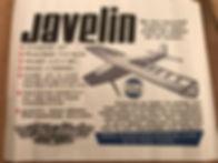 Javelin box cover