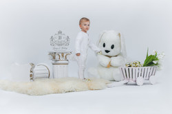 Ostern Fotoshooting in Weiss