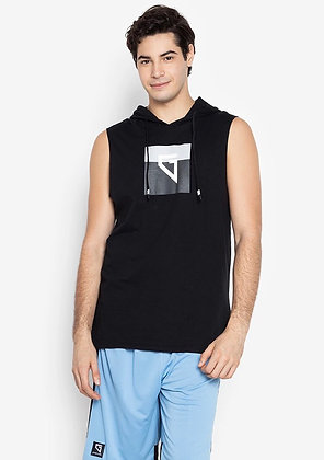 Gametime Men's Sleeveless Hoodie