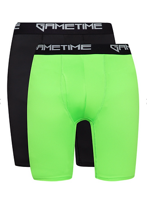 "Gametime Men's 9"" Tight Boxers (2 pieces)"
