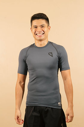 Gametime Men's Wrap Up Compression T-Shirt