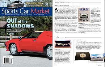 Sports Car Market SCM AUTO SAGGIO article