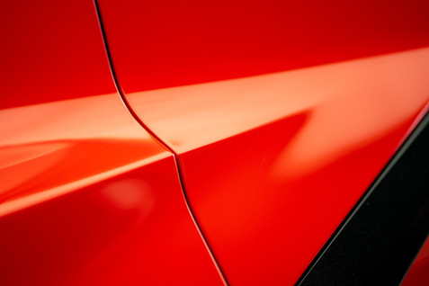 Convergence of Speed. The lines, the color, the light. Beautiful. Corvette C8 @autosaggio