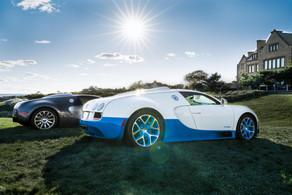 Stars in the sun. Bugatti @autosaggio