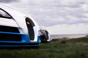 Seaside Twins. Bugatti @autosaggio