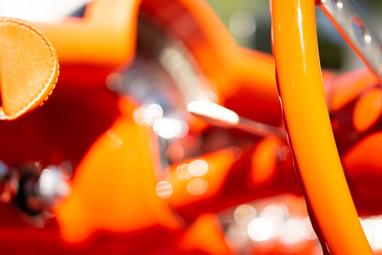 L'Orange. 1956 Corvette 'Venetion orange' instrument cluster @autosaggio