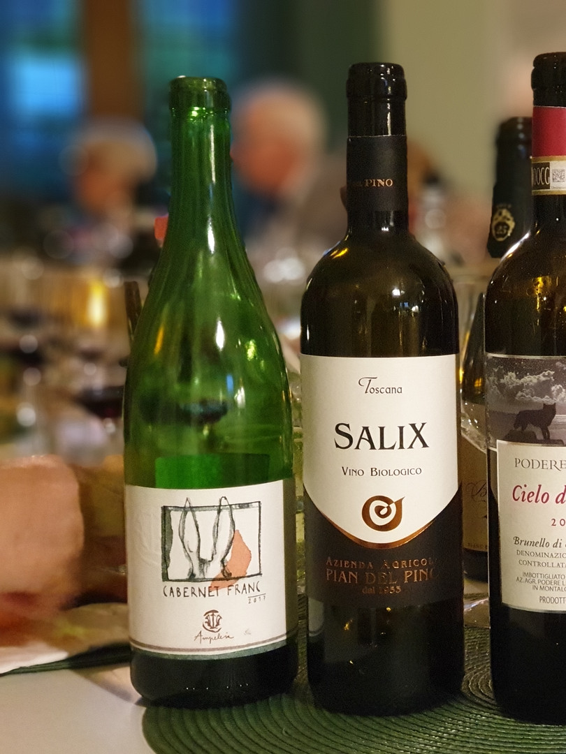 Vinprovning på Casa Oliveta