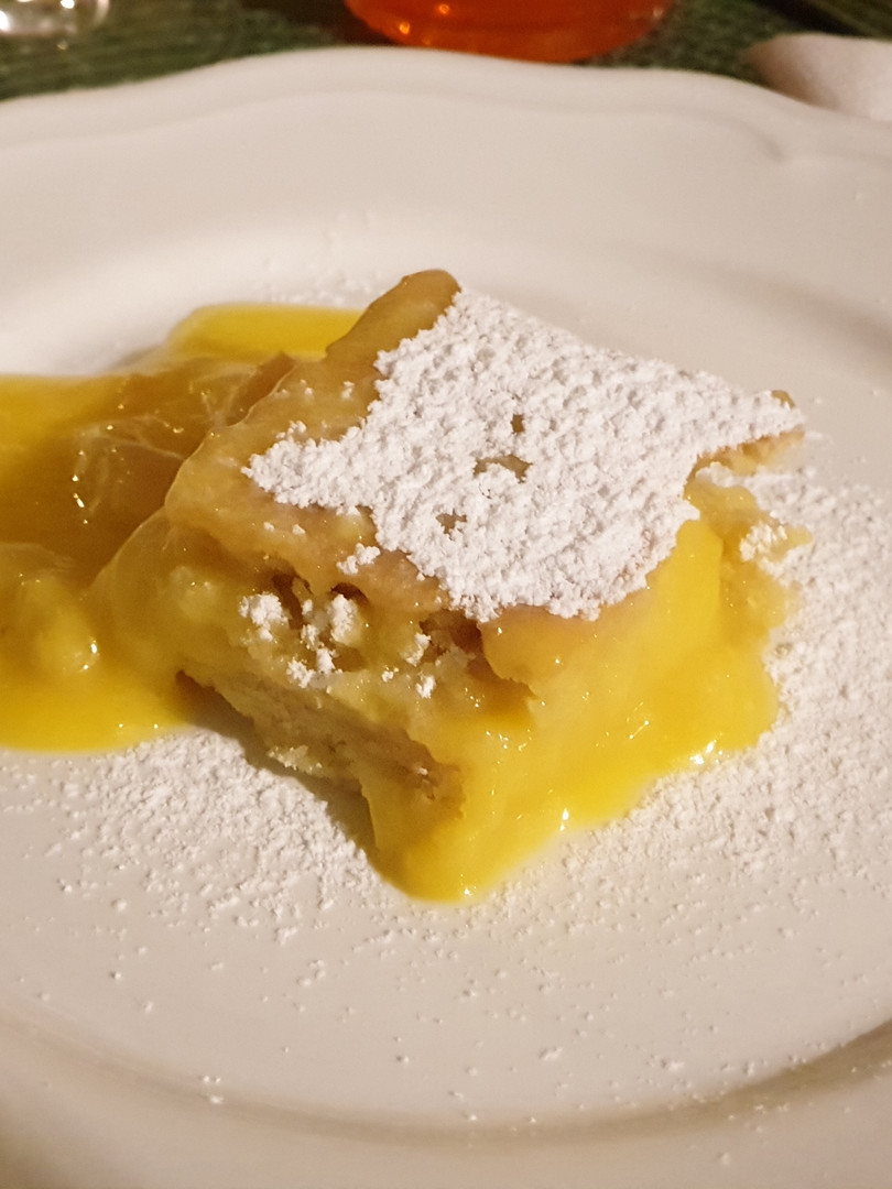 Citronkaka på Casa Oliveta