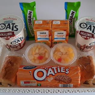 New breakfast tray items