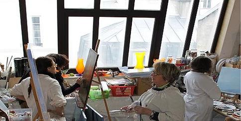 cours peinture dessin paris