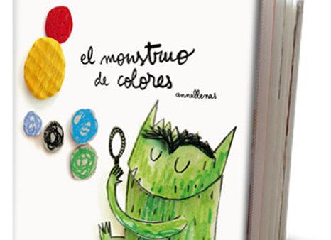 El monstruo de colores (versión pequeña)