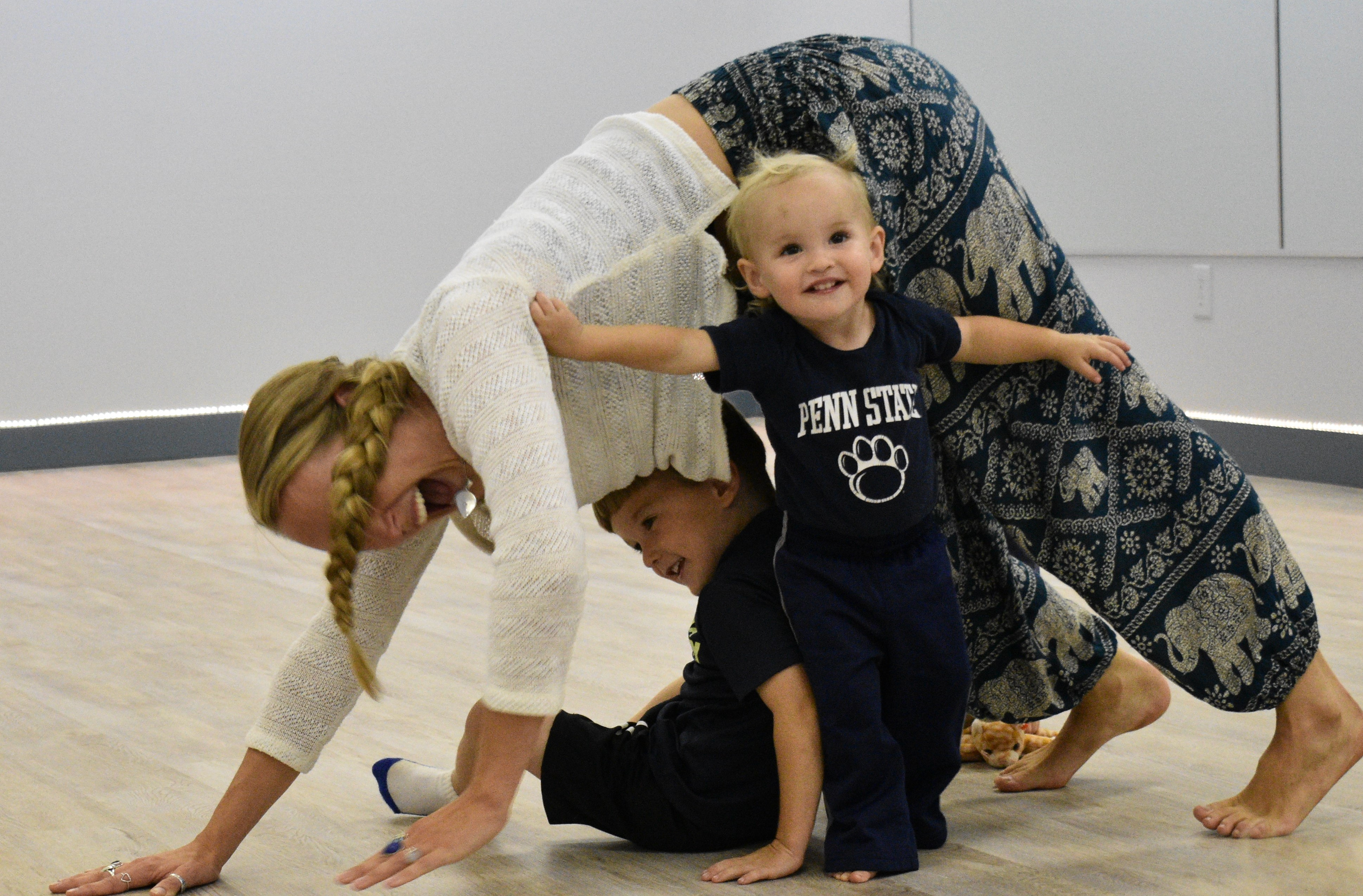 Yoga Time for Little Ones (2 & Under)
